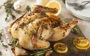 sült csirke - Béta-alanin forrás