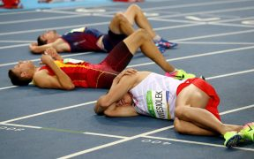 elfáradt futók - izomfáradtság
