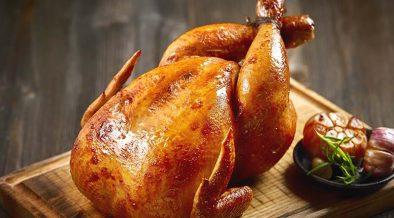 sült csirke - fehérjebevitel