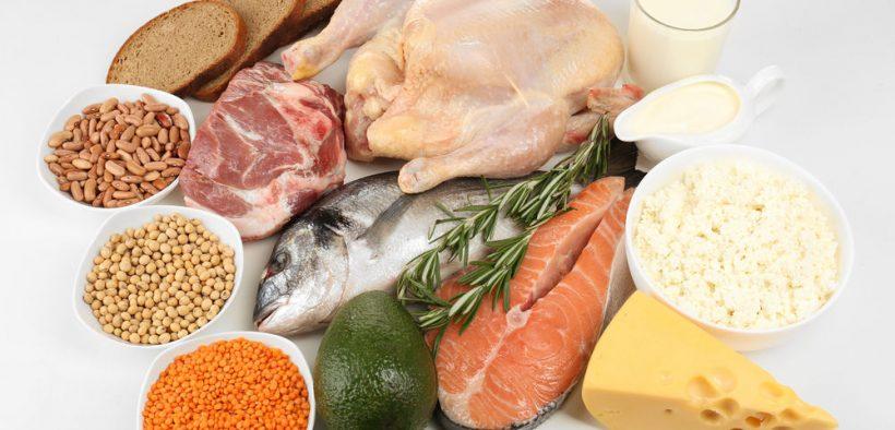 fehérjebevitel forrás ételek
