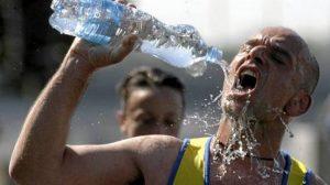 sportoló iszik