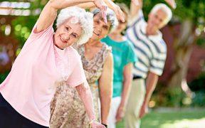 idős emberek aerob edzése