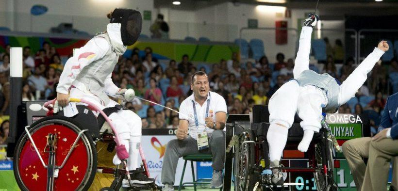 kerekesszékes sportolók versenye