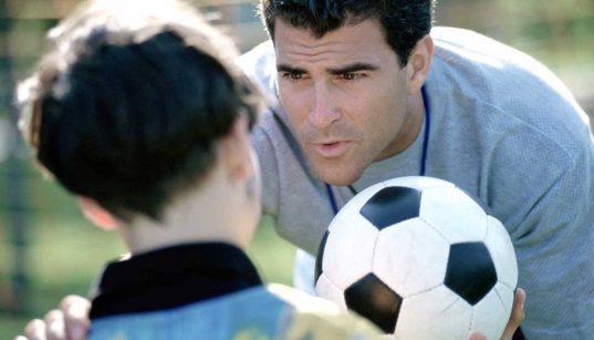 sportszülő fiával
