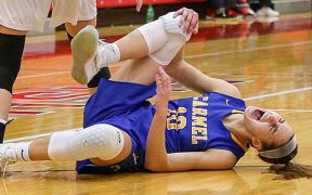 Elülső keresztszalag-sérülés -kosarlabda
