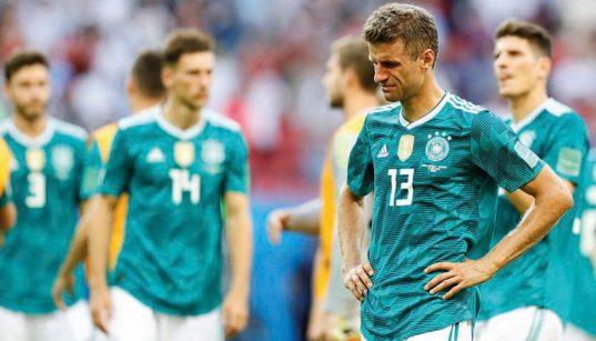 kudarc - német válogatott 2018 VB