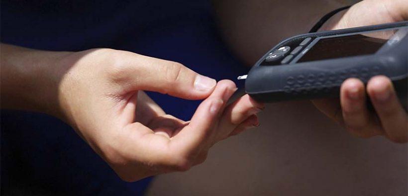 Cukorbetegek testedzése - vércukorszint mérés