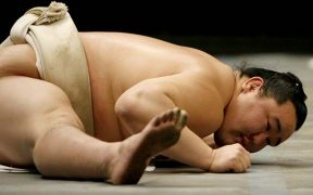 nyújtás - sumo versenyző