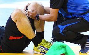 sportbaleset ellátása