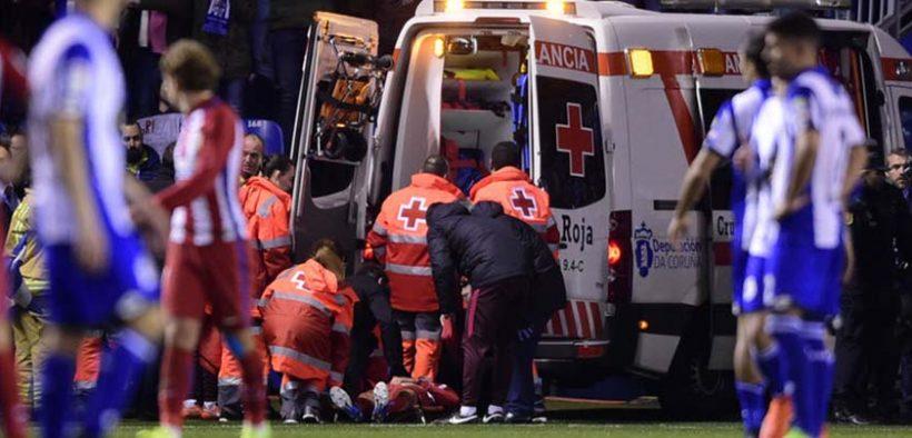 Sportbaleset - a sürgős betegszállítás