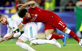 sportsérülés - Salah vs Ramos 2018