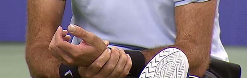 teniszező csukló fájdalma