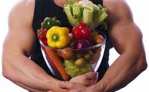 vegetáriánus sportoló