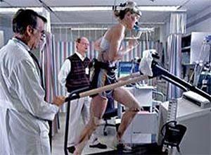 sportoló futószalagos terheléses - állóképesség - vizsgálata