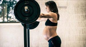 terhesség - várandós futónő